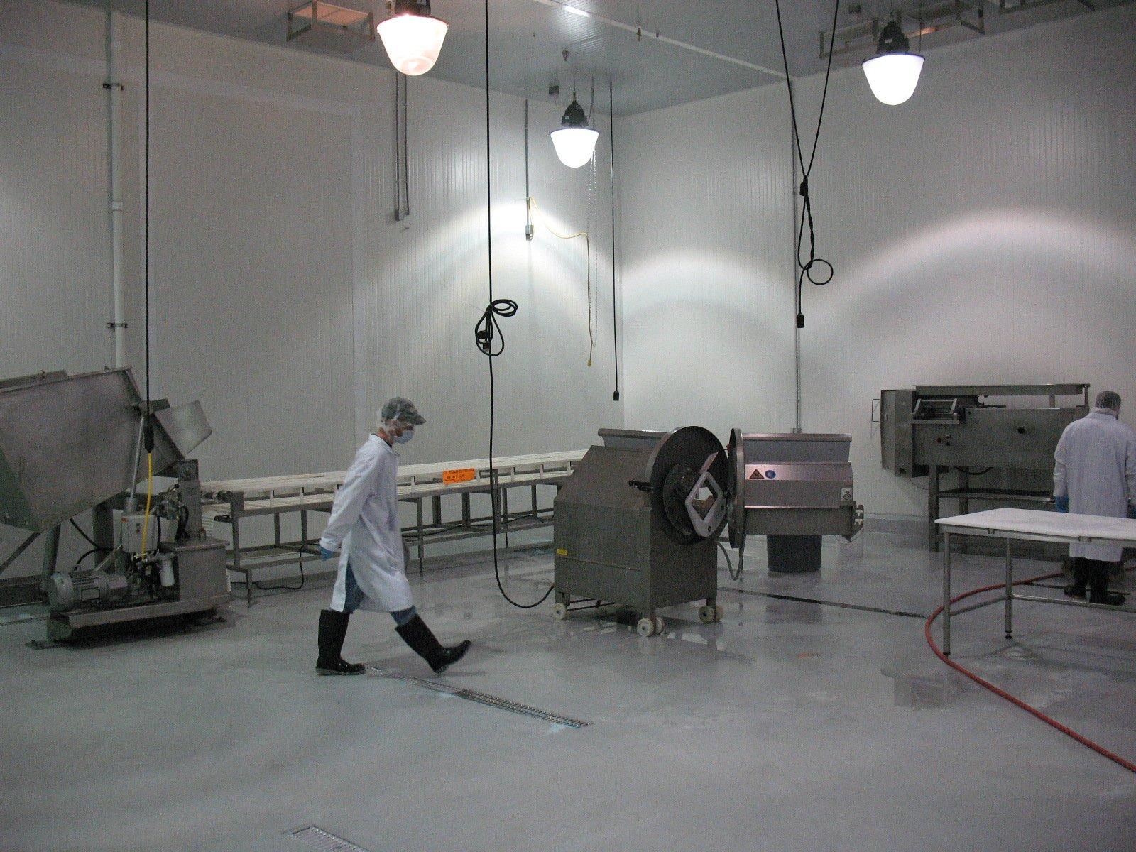Transparante epoxy coatingvloer als productievloer
